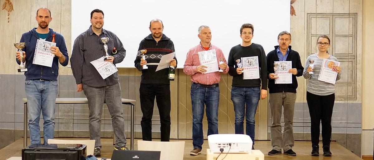Sieger der Vereinsblitzmeisterschaft 2019 des SV 1919 Grimma