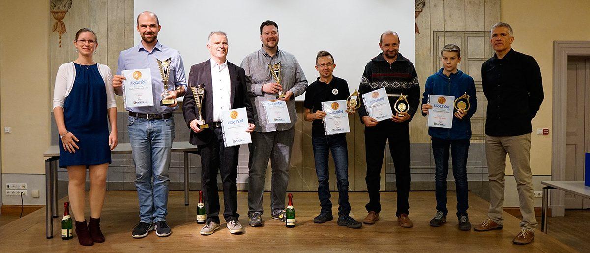 Sieger der Stadtmeisterschaft 2019 in Grimma